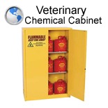 Veterinary Chemical Cabinet